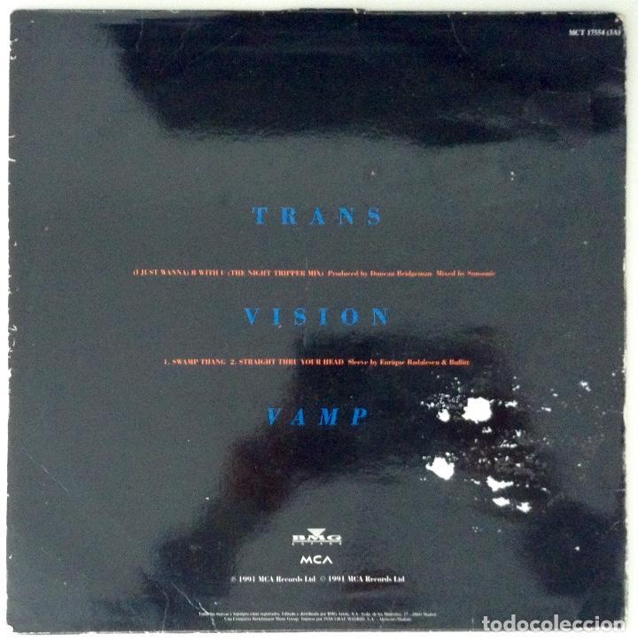 Discos de vinilo: TRANSVISION VAMP (I JUST WANNA) B With U - Foto 2 - 77227101