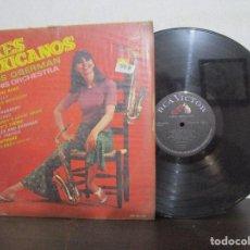 Discos de vinilo: SAXES MEXICANOS SAXOS CLAUS OGERMAN ROGER MILLER ARTIE SHAW LP T87 VG ESCASO. Lote 77241525
