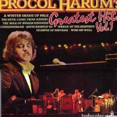Discos de vinilo: PROCOL HARUM - GREATEST HITS VOL. 1 (LP) EDIC. INGLESA - EX/EX++. Lote 77246205