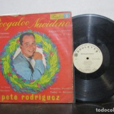 Discos de vinilo: BOOGALOO NAVIDEÑO PETE RODRIGUEZ LP T87 G+ RARO ESCASO. Lote 77267365