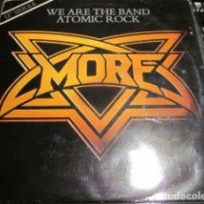 Discos de vinilo: MORE - WE ARE THE BAND - MAXI - EDICION INGLESA DEL AÑO 1981.. Lote 77271345