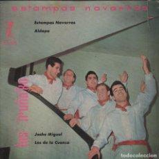 Discos de vinilo: LOS IRUÑA'KO - ESTAMPAS NAVARRAS / ALDAPA / JOSHE MIGUEL / LOS DE LA CUENCA - EP 1959 RF-1824 . Lote 77287309