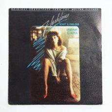 Discos de vinilo: IRENE CARA - FLASHDANCE… WHAT A FEELING – SINGLE. Lote 77288541