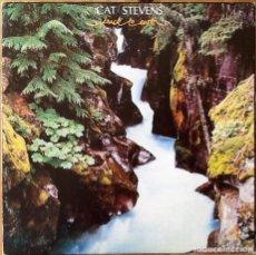 Discos de vinilo: CAT STEVENS : BACK TO EARTH [ESP 1978] LP. Lote 77294837