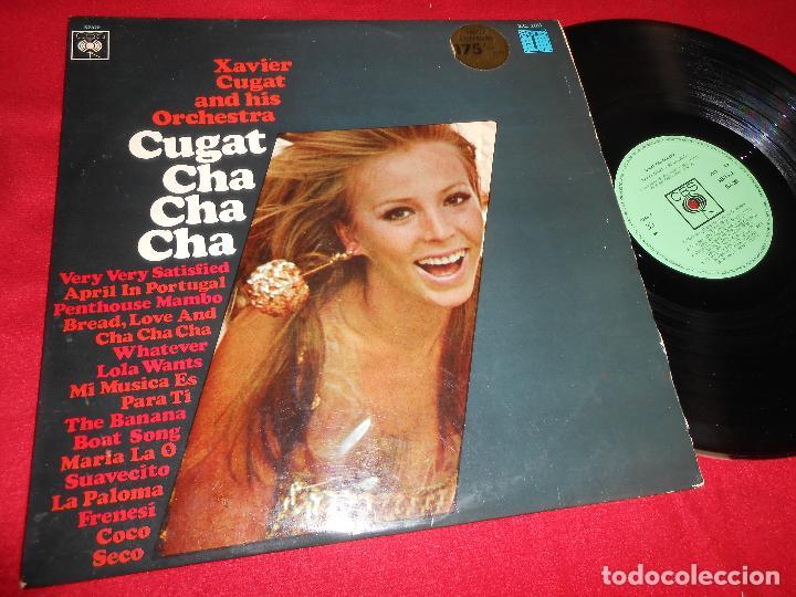 XAVIER CUGAR AND HIS ORCHESTRA CUGAT CHA CHA CHA LP 1967 CBS EDICION ESPAÑOLA SPAIN LATIN (Música - Discos - LP Vinilo - Orquestas)