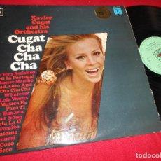 Discos de vinilo: XAVIER CUGAR AND HIS ORCHESTRA CUGAT CHA CHA CHA LP 1967 CBS EDICION ESPAÑOLA SPAIN LATIN. Lote 77300645