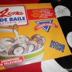 Discos de vinilo: ZONA DE BAILE VOL. 6 2LP 1994 DRO BANDIDO+FUN CLUB+ BOYZZ IN ATTIC + INNER CIRCLE + TZABOO + JOPAN. Lote 77301321
