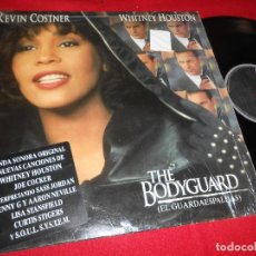 Discos de vinilo: THE BODYGUARD EL GUARDAESPALDAS BSO OST LP 1992 WHITNEY HOUSTON EDICION ESPAÑOLA SPAIN. Lote 77301549