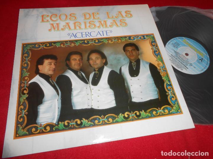 ECOS DE LAS MARISMAS ACERCARTE LP 1991 FONOMUSIC EDICION ESPAÑOLA SPAIN (Música - Discos - LP Vinilo - Flamenco, Canción española y Cuplé)