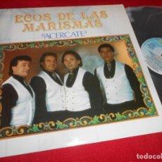 Discos de vinilo: ECOS DE LAS MARISMAS ACERCARTE LP 1991 FONOMUSIC EDICION ESPAÑOLA SPAIN. Lote 77303085