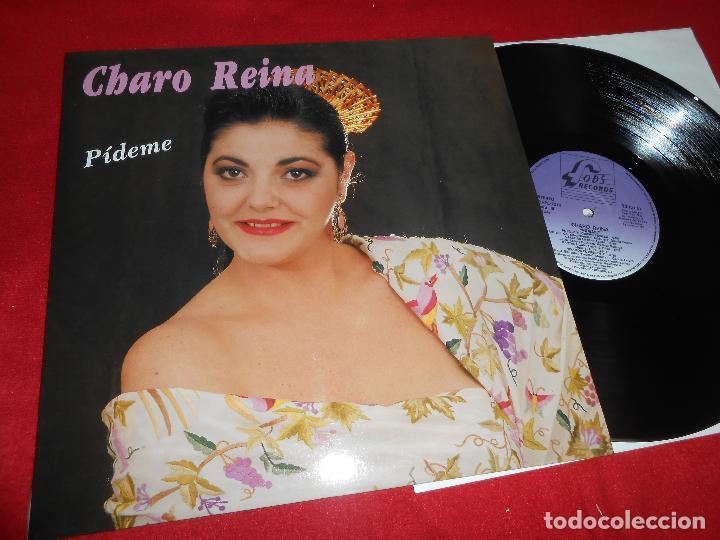 CHARO REINA PIDEME LP 1990 FODS RECORDS EDICION ESPAÑOLA SPAIN (Música - Discos - LP Vinilo - Flamenco, Canción española y Cuplé)