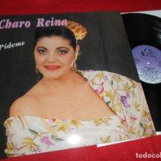 Discos de vinilo: CHARO REINA PIDEME LP 1990 FODS RECORDS EDICION ESPAÑOLA SPAIN . Lote 77303225