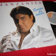 Discos de vinilo: MANZANITA SUEÑO DE AMOR LP 1991 HORUS EDICION ESPAÑOLA SPAIN. Lote 77303485