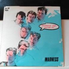 Discos de vinilo: MADNESS - TOMORROW'S JUST ANOTHER DAY - STIFF UK 1983 VG+. Lote 77304537