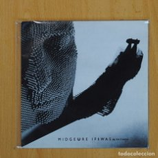 Disques de vinyle: MIDGE URE - IF I WAS / PIANO - SINGLE. Lote 77306727