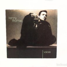 Discos de vinilo: LP KENNY THOMAS. VOICES. EMI UK 1991 (VG/NM-). Lote 57485791