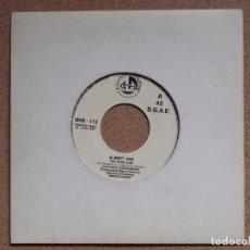 Discos de vinilo: ALBERT ONE - FOR YOUR LOVE + SECRETS - PROMO. Lote 77318197