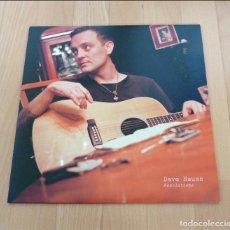 Discos de vinilo: LP DAVE HAUSE RESOLUTIONS PAPER & PLASTICK 2011 LIMITADO 333 NEGRO NARANJA SPLASH COMO NUEVO. Lote 77323545