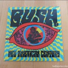 Discos de vinilo: LP B.U.S.H.NEW AMERICAN CENTURY 2006 PUNK HARDCORE COMO NUEVO. Lote 77324545