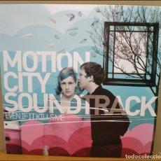 Discos de vinilo: 2X LP MOTION CITY SOUNDTRACK EVEN IT KILLS ME EPITAPH 2007 BUEN ESTADO.. Lote 77325117