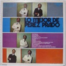 Discos de vinilo: LO MEJOR DE PEREZ PRADO (LP RCA 1973 ESPAÑA). Lote 183390190