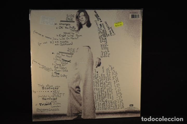 Discos de vinilo: David Bowie - Hunky Dory (A Pedir De Boca) - LP - Foto 2 - 77336513