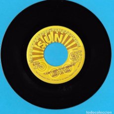 Discos de vinilo: JERRY LEE LEWIS: I CAN´T SEEM TO SAY GOODBYE / GOOD NIGHT IRENE. Lote 77341873