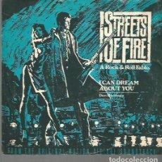 Discos de vinilo: BANDA SONORA DEL FILM STREETS OF FIRE SINGLE SELLO MCA AÑO 1980 EDITADO EN USA.. Lote 77351629
