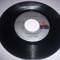 Discos de vinilo: SINGLE DE LOS CANARIOS. LORD I'M READY. EDICION ARIOLA DE 1971. PORTADA GENERICA.. Lote 77355933