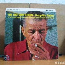 Discos de vinilo: KID ORY - THE KID ORY STORY: STORYVILLE NIGHTS - VERVE VLP 9015 - 1962 - EDICION UK. Lote 77369873