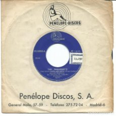 Discos de vinilo: THE PRESIDENTS - FOR YOUR SAKE AND MINE / LET IT BE ME (45 RPM) EX++. Lote 77378513