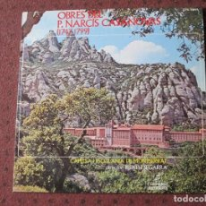 Discos de vinilo: CAPELLA I ESCOLANIA DE MONTSERRAT - RESPONSORIS DE SETMANA SANTA - COLUMBIA - SPAIN - 1971 - P`-. Lote 77386489