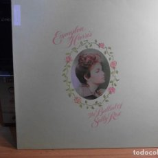 Discos de vinilo: EMMYLOU HARRIS THE BALLAD OF SALLY ROSE LP SPAIN 1985 PDELUXE . Lote 77400237