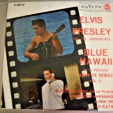 Discos de vinilo: ELVIS PRESLEY - BLUE HAWAII / BLUES DEL CHICO DE LA PLAYA+3 / 1963 / EX - 3-20714. Lote 77403501