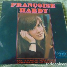 Disques de vinyle: FRANÇOISE HARDY – VOILA + 3 - EP. Lote 77404233