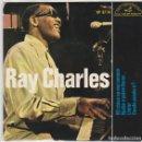 Discos de vinilo: RAY CHARLES / MI CHICA NO ME CONOCE + 3 (EP 1964). Lote 77430997