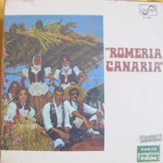 Discos de vinilo: LP - ROMERIA CANARIA - VARIOS (SPAIN, DISCOS ZAFIRO 1971). Lote 77431681