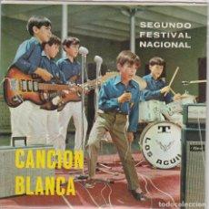 Discos de vinilo: CANCION BLANCA - SEGUNDO FESTIVAL NACIONAL / YO CONOCI A UNA CHICA / MAS ALLA + 2 (EP 1968). Lote 77434245