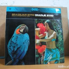 Discos de vinilo: CHARLIE BYRD - BRAZILIAN BYRD - CBS SS 62836 - 1966 - EDICION UK. Lote 77453553