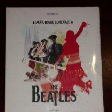 Discos de vinilo: THE BEATLES - ESPAÑA RINDE HOMENAJE A THE BEATLES ARTICULO NUEVO Y PRECINTADO. Lote 77454993