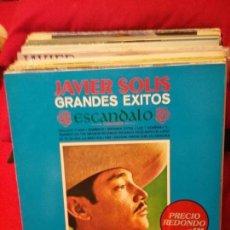 Discos de vinilo: JAVIER SOLIS-GRANDES EXITOS. Lote 77456565