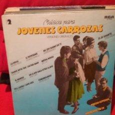 Discos de vinilo: JOVENES CARROZAS VOL2. Lote 77457025