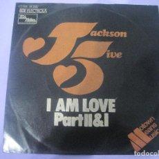 Discos de vinilo: MICHAEL JACKSON AND JACKSON FIVE-I AM LOVE PART II & I-ORIGINAL ALEMAN-RARO!!!!. Lote 77461769