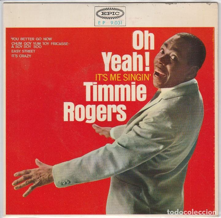 TIMMIE ROGERS / YOU BETTER GO NOW + 3 (EP 1965) (Música - Discos de Vinilo - EPs - Funk, Soul y Black Music)