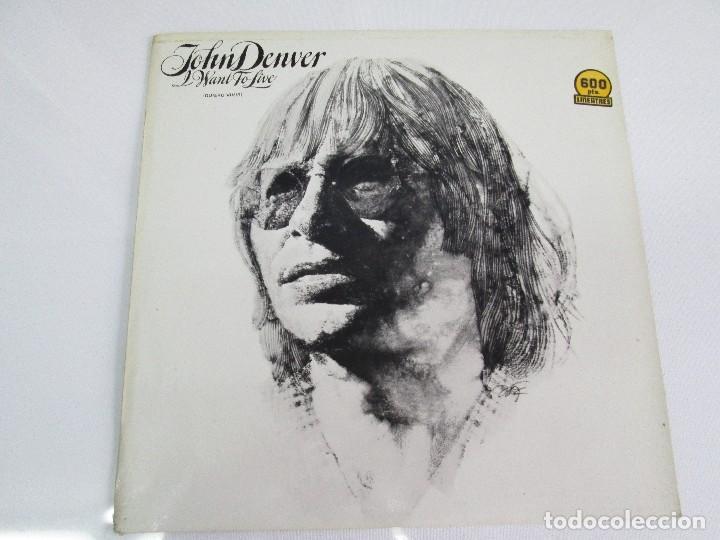 Discos de vinilo: DISCOS DE VINILO. JHON DENVER: I WANT TO LIVE. SPIRIT. POEMS, PRAYERS & PROMISES. VER FOTOGRAFIAS - Foto 2 - 77468373