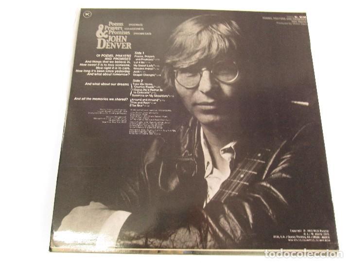 Discos de vinilo: DISCOS DE VINILO. JHON DENVER: I WANT TO LIVE. SPIRIT. POEMS, PRAYERS & PROMISES. VER FOTOGRAFIAS - Foto 16 - 77468373