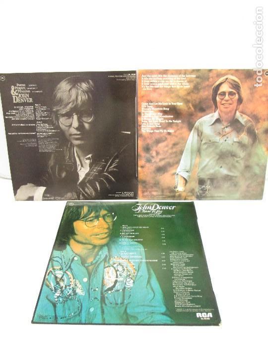 Discos de vinilo: DISCOS DE VINILO. JHON DENVER: I WANT TO LIVE. SPIRIT. POEMS, PRAYERS & PROMISES. VER FOTOGRAFIAS - Foto 17 - 77468373