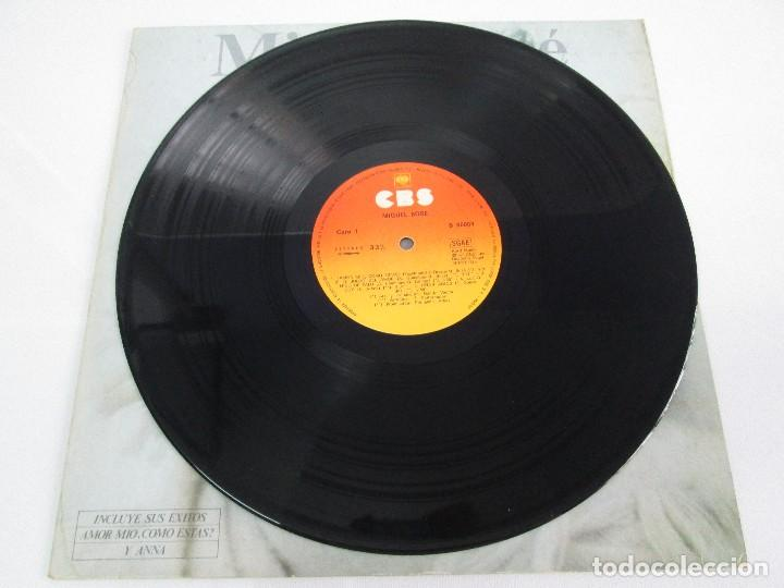 Discos de vinilo: DISCOS DE VINILO. MIGUEL BOSE. SIETE ALBUNES. VER FOTOGRAFIAS ADJUNTAS - Foto 3 - 77469013