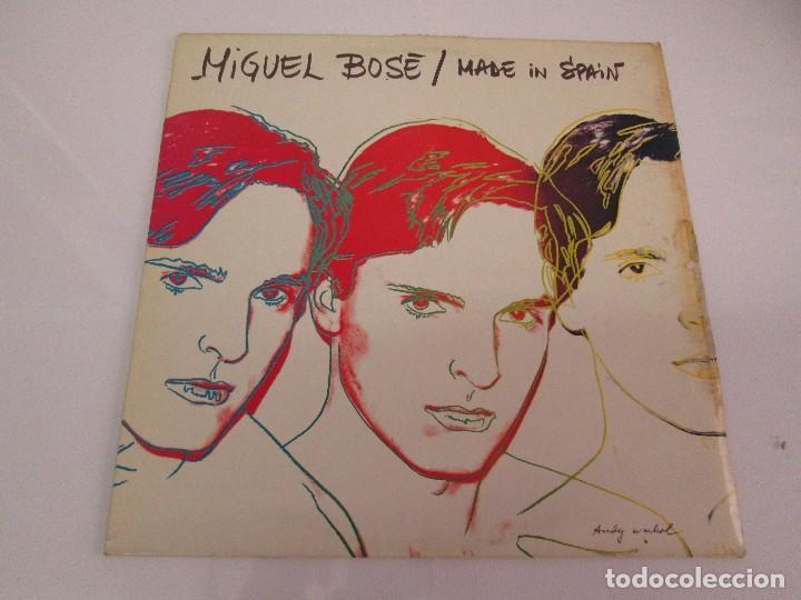 Discos de vinilo: DISCOS DE VINILO. MIGUEL BOSE. SIETE ALBUNES. VER FOTOGRAFIAS ADJUNTAS - Foto 18 - 77469013
