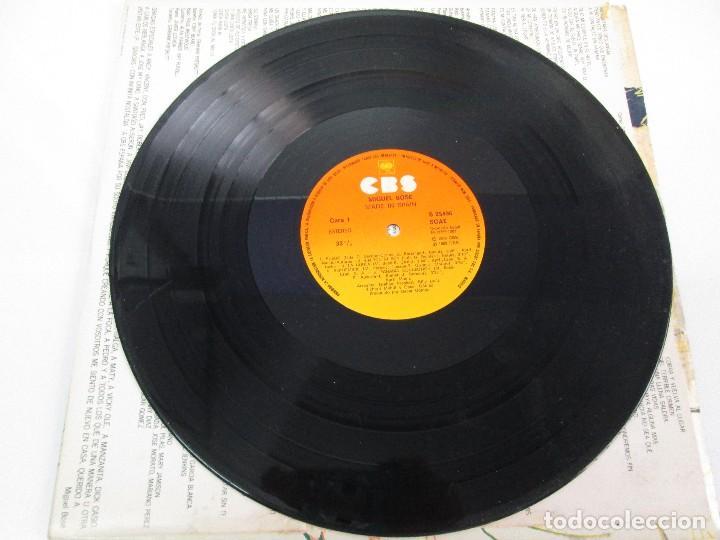 Discos de vinilo: DISCOS DE VINILO. MIGUEL BOSE. SIETE ALBUNES. VER FOTOGRAFIAS ADJUNTAS - Foto 19 - 77469013